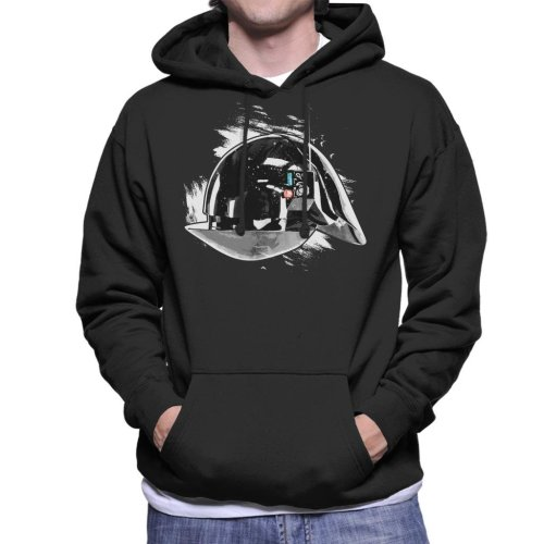 Original Stormtrooper Imperial Gunner Helmet Men's Hooded Sweatshirt