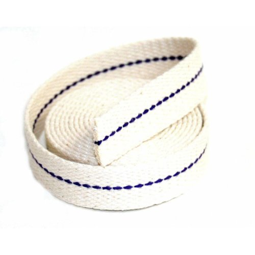 """1 Meter 39"""" of Hattersley Aladdin 1"""" (25mm) Flat Wick for Paraffin heaters"""