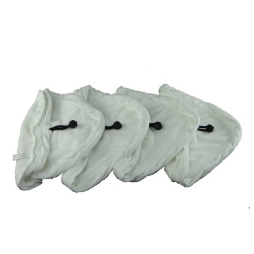 4 X Steam Mop Microfibre Cleaning Cloth Cover Pads Kit Fits Hyundai