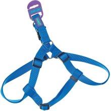 "3/4"" x 30"" Blue Dog Harness - Co Nylon 19mm X76cm -  dog co nylon harness blue 19mm x76cm"