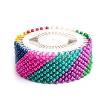 Assorted Color Dressmaking Sewing Positioning Crafts Pins 480 Pcs