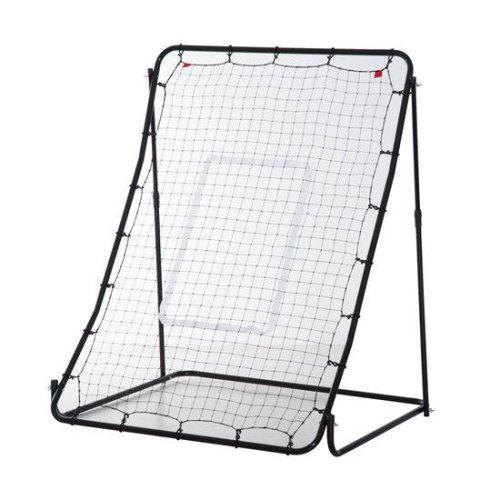 HOMCOM Multi Sports Net Baseball Trainer Rebounder Throw Practice (3.7 x 3.5 ft.)