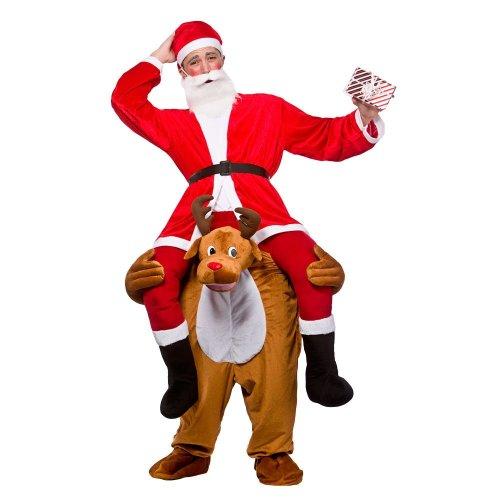Carry Me Piggy Back Rudolph Reindeer Costume   Christmas