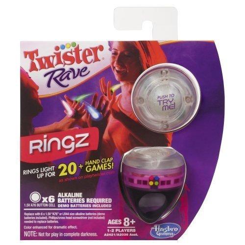 Twister Rave Ringz Game Pink