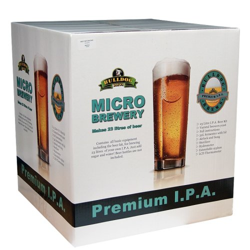 Bulldog Micro Brewery Starter Equipment And 40 Pint Beer Kit