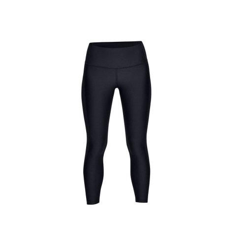 Under Armour HG Armour Ankle Crop Branded 1329151-001 Womens Black leggings