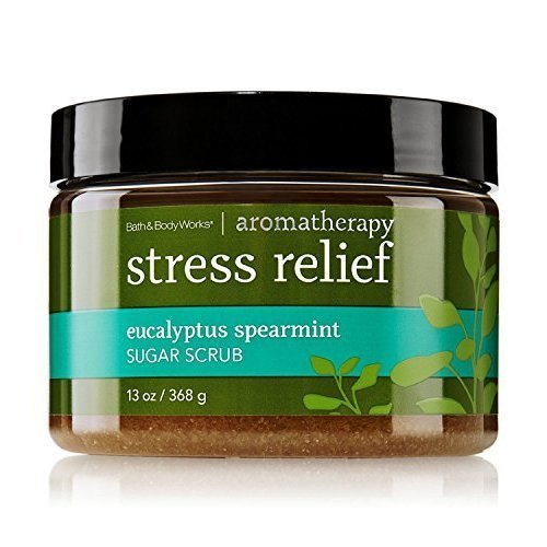 Bath & Body Works AROMATHERAPY Stress Relief Eucalyptus Spearmint Sugar Scrub 13