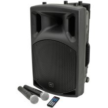 QX series portable powered PA unit with Bluetooth®