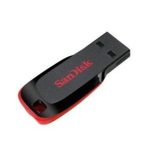 Sandisk Cruzer Blade 32GB USB 2.0 Type-A Black,Red USB flash drive