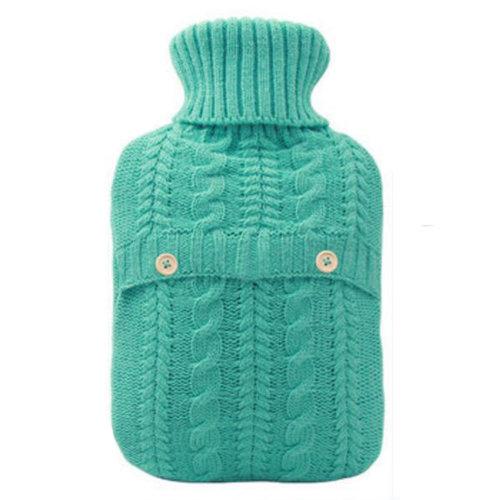 2LWarm Cute Hot-Water Bottle Water Bag Water Injection Handwarmer Pocket Cozy Comfort,B