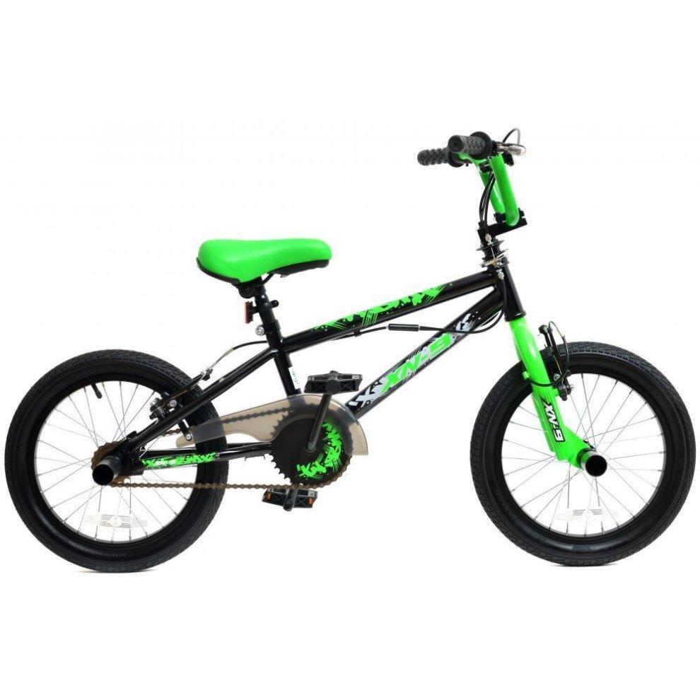 Bmx Bikes For Kids >> Xn 9 16 Bmx Bike Kids Childs Boys Freestyle Bmx 16 Wheel Gyro 360 Stunt Bicycle