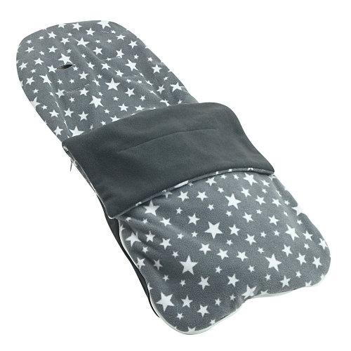 Snuggle Summer Footmuff Compatible With Mima Xari - Grey Star