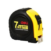 Tape Measure with Magnetic End Hook,Metric Inch Dual System,7.5m/24 Ft