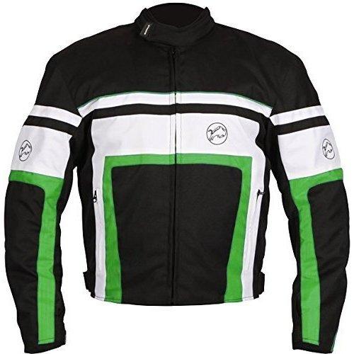 Buffalo Retro Green Motorcycle Jacket