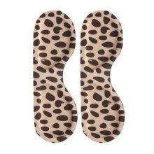 4 Pair Heel Cushions Padded Heel Grips Care Heel Snugs Heel Liners Leopard(D)