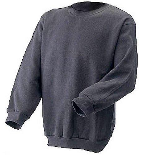 Click CLPCSGYL Sweatshirt Fleece Lined Grey Large