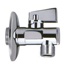 Chrome Water Isolating Ball Valve 3/8 1/2 3/4 15-22mm Lever Taps Plumbing