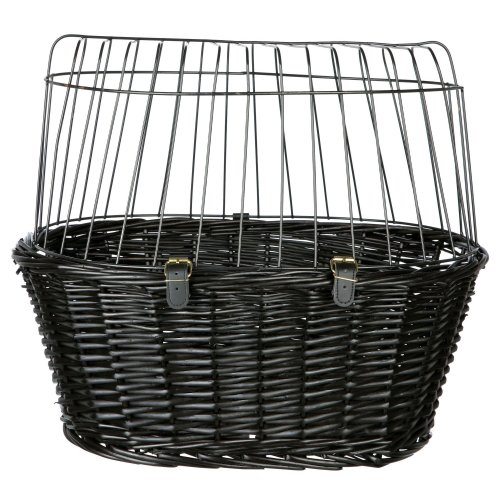 Trixie Lattice Bicycle Basket  With Cushion