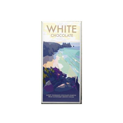 Kernow White Chocolate bar 100g
