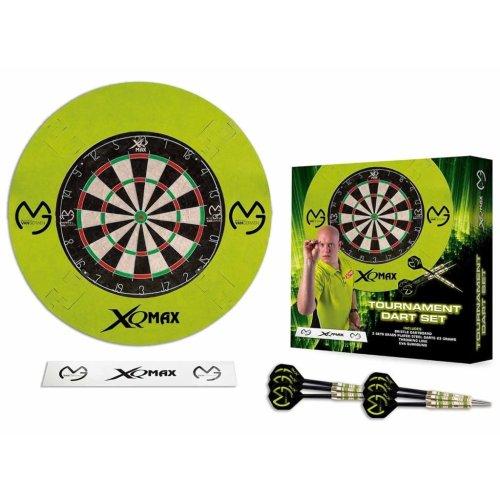 XQmax Darts MvG Dartboard Set QD7000300