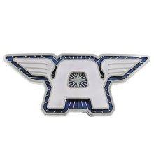 Jewel M Captain America A Wings Blue Belt Buckle