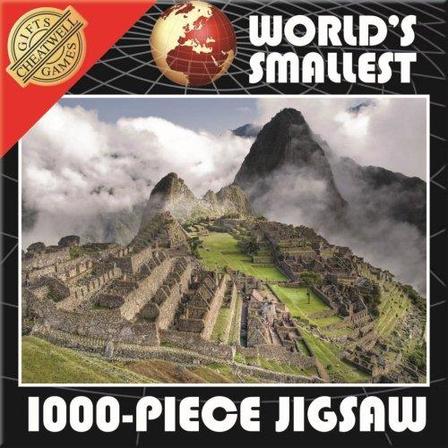 World's Smallest 1000 Piece Jigsaw Puzzle - Machu Pichu (1000 Pieces)