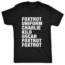 8TN Phonetic Funny FUCK OFF Womens T Shirt