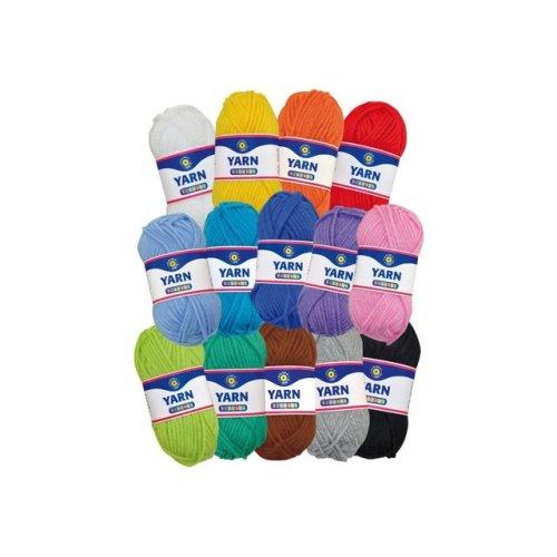 14 Colours Playbox Acrylic Yarn - Pbx2471042 -  pbx2471042 playbox acrylic yarn 14 colours