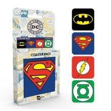 Dc Comics Logos Coaster Pack
