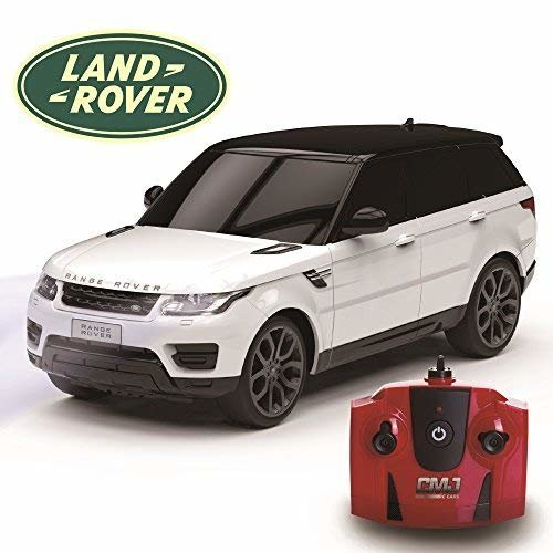 CMJ RC CarsTM Range Rover Sport Official Licensed Remote Control Car for Children and Adults alike with Working LED Lights, Radio Controlled Supercar