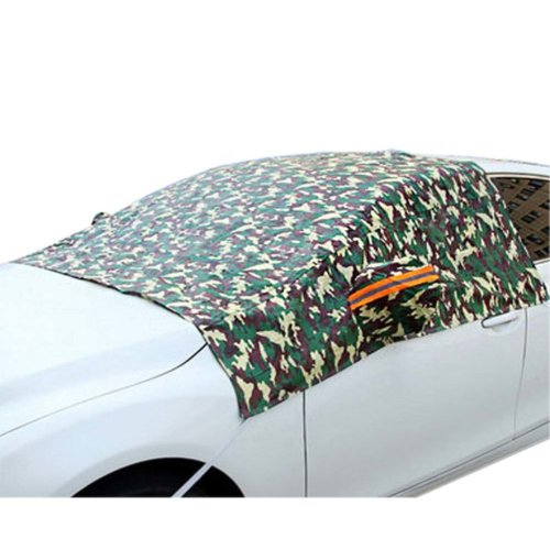 Auto Windshield Snow Cover All Seasons Visor Protector For Cars Car Windshield Cover In Winter #3