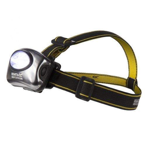 Regatta 5 LED Head Torch - Black/Seal Grey