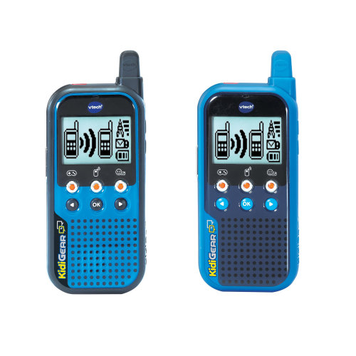 Vtech KidiGear Walkie Talkies Blue and Black