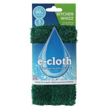 e-Cloth Kitchen Whizz No Chemicals Required Extra Long Quick Cleaning Wet Cloth