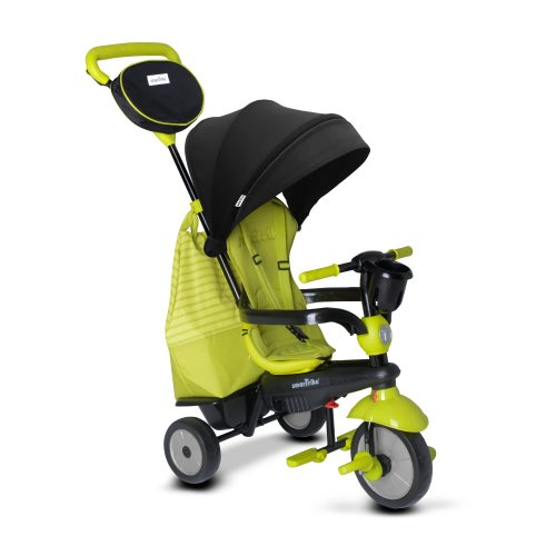 smarTrike Swing DLX Trike Baby Tricycle for 1 Year Old, Green