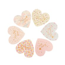 Lovely Floret Heart Folded All Occasion Greeting Cards/12 Piece/Random Delivery