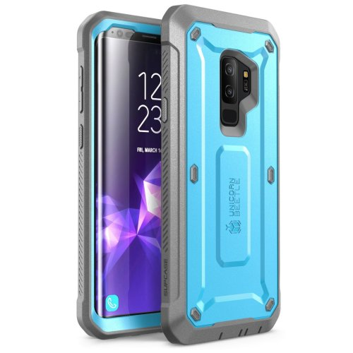 the best attitude 55e92 622fa SUPCASE Samsung Galaxy S9+ Plus Case, Full-body Rugged Holster Case with  Built-in Screen Protector for Galaxy S9+ Plus (2018 Release), Unicorn...