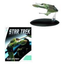 Star Trek Starships Klingon Bird of Prey Figure with Mag. by Eaglemoss Publications