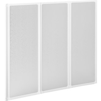 Bath Shower Screen, Folding 132 x 140 cm