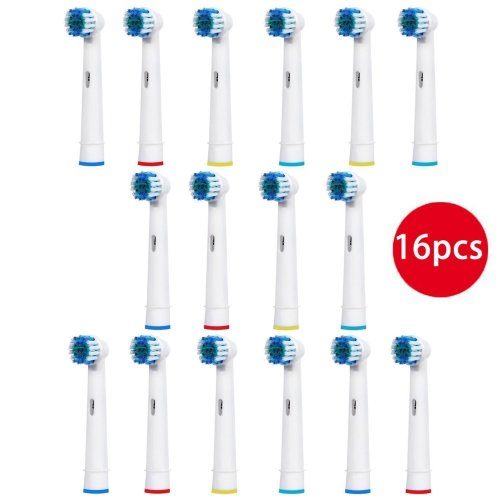 FIRIK Oral-B Compatible Toothbrush Replacement Heads, Pack of 4, 16-Piece