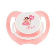 Lovely Cartoon Free Nighttime Infant Pacifier, Love Fairy,Pink
