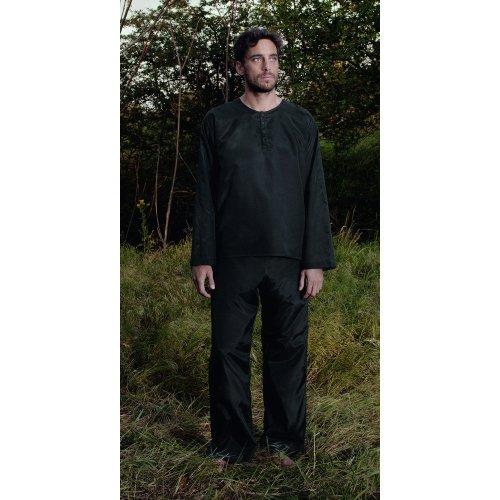 Cocoon Mens Travel Pyjamas Pirate Black (Size X Large)