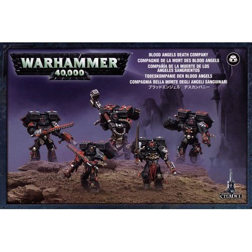 Games Workshop - Warhammer 40,000 - Blood Angels Death Company