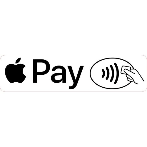 Apple Pay Shop Business Trade Trader Till Payment Sticker Laminated.