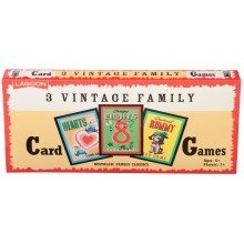 3 Vintage Family Card Games
