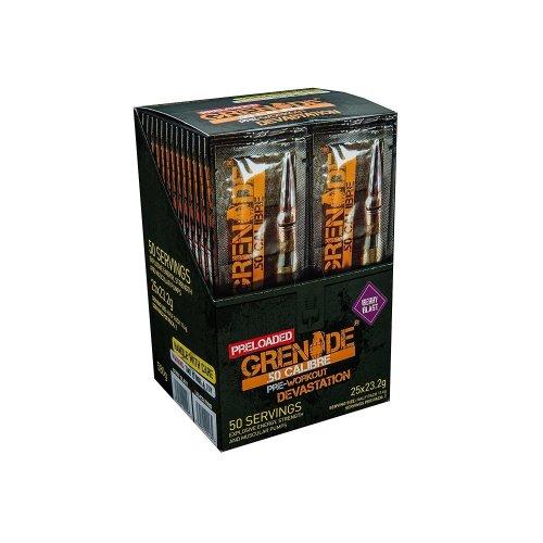 Grenade 50 Calibre Preworkout Sticks - 25 Pack