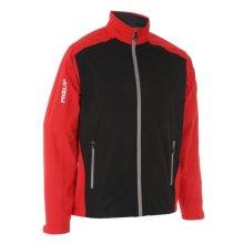 ProQuip Golf Mens Aquastorm PX1 Waterproof Rain Jacket Full Zip Red/Black Large
