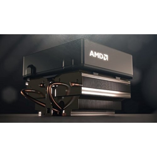 AMD WRAITH SILENT COOLER wLED light Socket FM2FM1AM3AM2 AM21207939940754 Copper BaseAlum Heat Sink 2 75 Fan wHeatpipes 4 Pin Connector Up to 125W