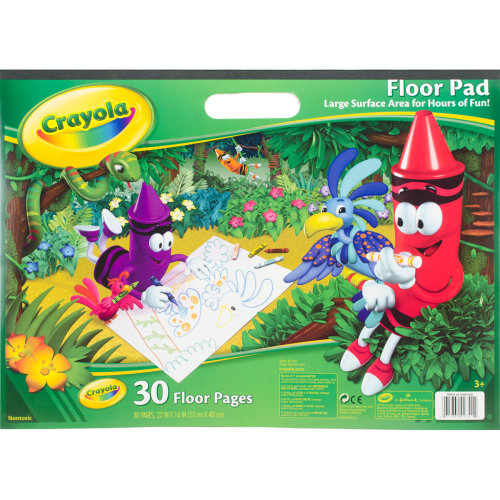 "Crayola Floor Pad 22""X16""-30 Sheets"