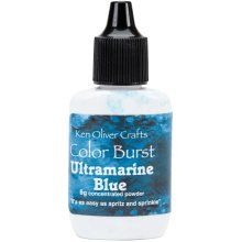 Ken Oliver Color Burst Powder 6gm-Ultramarine Blue